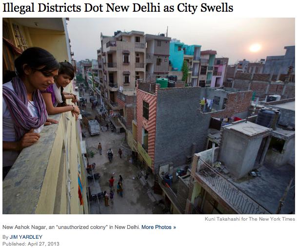 NYT New Delhi pic